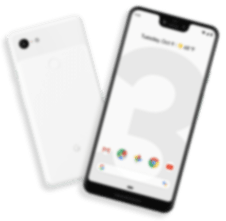 landing pixel slider phone dummy